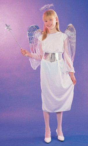 Large Girls Angel Costume (Toy Fancy Dress Ideas)