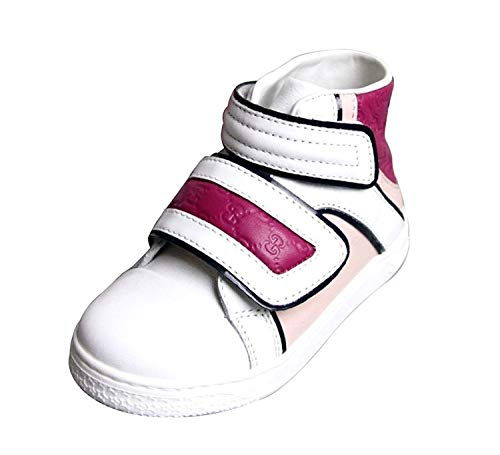 hite Pink Purple Leather High top Sneakers 301353 301354 (24 G / 8 US) ()