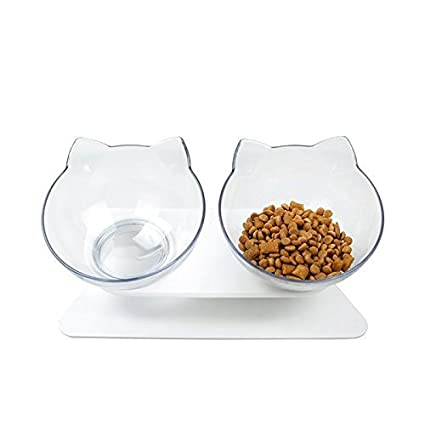 Pet Supplies Cat Supplies Double Cat Bowl
