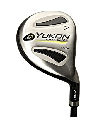 Pinemeadow Yukon Offset Fairway 7 Wood with Headcover