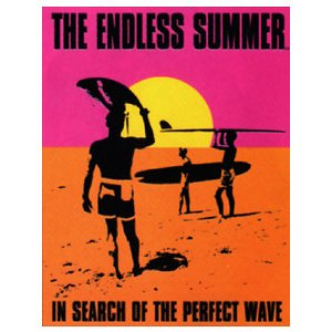 Endless Tin Summer - Poster Discount Endless Summer Surfing Movie Sign, 13x16