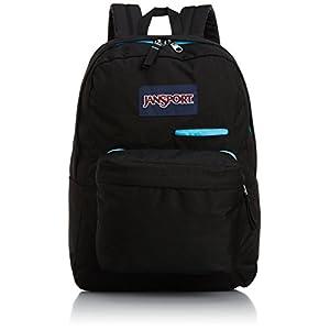 """JanSport Digibreak Backpack - Black / 16.7""""H x 13""""W x 8.5""""D"""