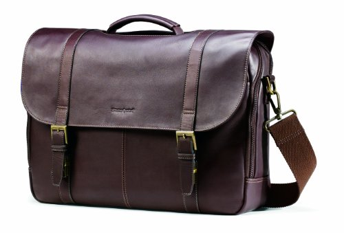 Samsonite Colombian Leather Flap Over Messenger product image