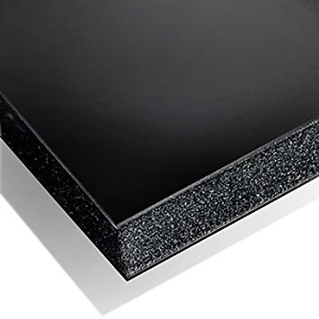 Black Foam Board With Core Pack of 10 ( Strong and High Quality) 5mm Thickness A2 Size 420x594mm WARM TOUCH