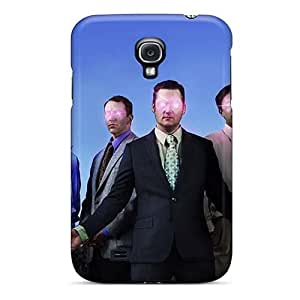 Shock Absorbent Hard Phone Covers For Samsung Galaxy S4 (eTX17795IsKu) Customized HD Modest Mouse Band Image