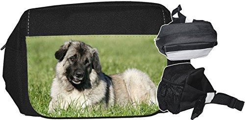 +++ KAUKASE Kaukasischer Schäferhund - GÜRTELTASCHE Bauchtasche Futterbeutel HÜFTTASCHE Tasche - KKS 02