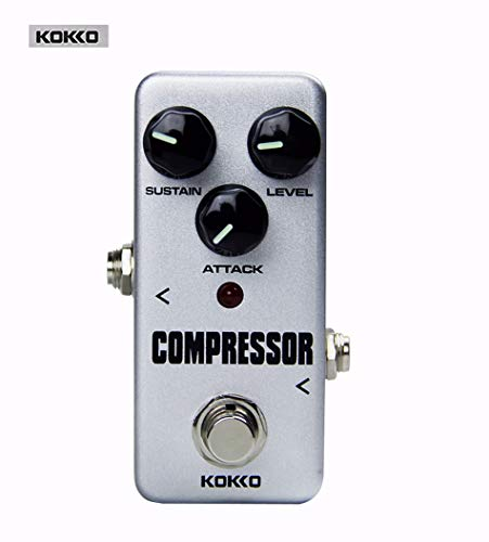 KOKKO FCP2 Compression MINI Effects Pure Analog Circuit Design Wide Adjustment Range Universal For Guitar and Bass