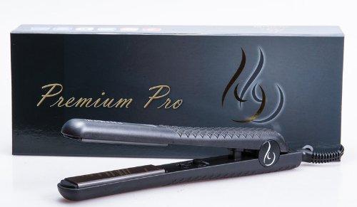 """Bebella Премиум Pro Профессиональные 1,25 """"Оникс Плиты Выпрямитель для волос Flat Iron 500 градусов (черный)"""