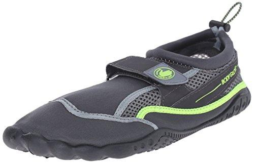 Body Glove Men's Seek Water Shoe, Total Eclipse/Neon Green, 9 M US