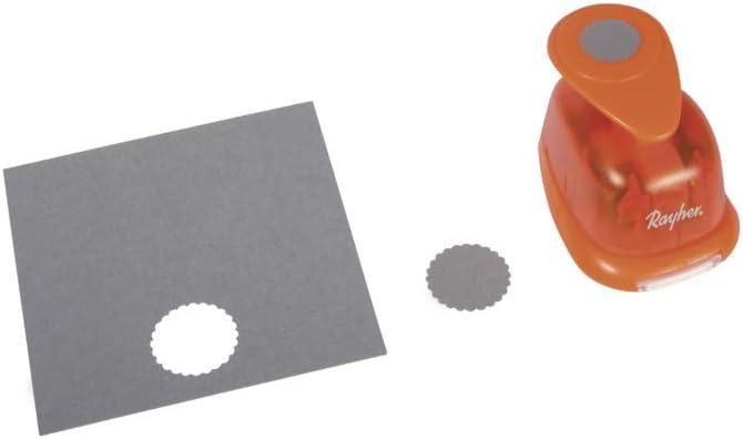 Fustella con bordo decorativo Rayher rotonda 1 /ø 2.54cm
