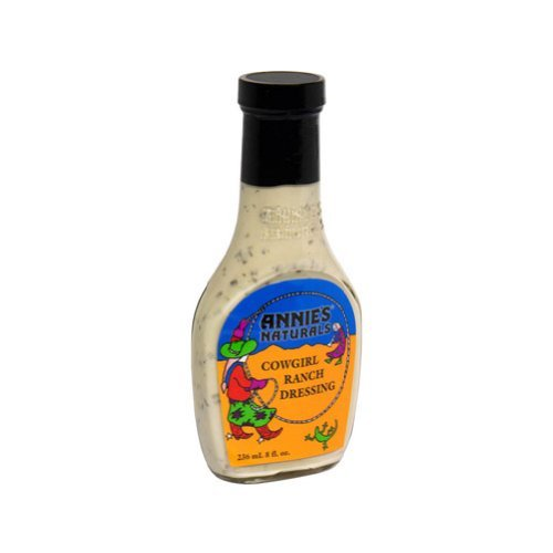 Annie's Naturals Cowgirl Ranch Dressing 8 Ounce (Pack of 36)