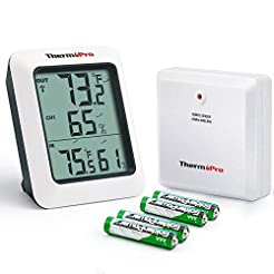 ThermoPro TP-60S Digital Hygrometer Indo...