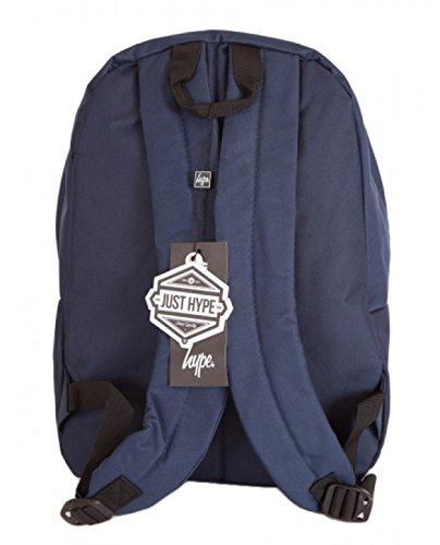 Hype marineblau Orden Rucksack Tasche - ideal Schule Taschen - Rucksack für Jungen und Mädchen