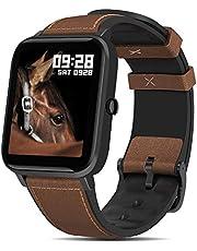 Smartwatch Pulsera Inteligente, Fullmosa Reloj Inteliente Mujer S3, Rastreador de Actividad Física con Monitor de Frecuencia Cardíaca / SpO2 / Salud de Mujer, Relojes Deportes GPS Monitor de Pasos, Fitness Tracker para Mujeres Hombres Niños
