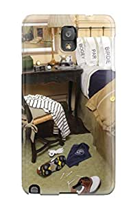 New Tpu Hard Case Premium Galaxy Note 3 Skin Case Cover(teen Boys Golf Theme Bedroom With Writing Desk)