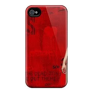 New Tpu Hard Case Premium Iphone 4/4s Skin Case Cover(teresa Palmer In Warm Bodies)