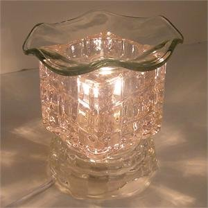 Clear Glass Electric Oil Burner BCE654354DCML
