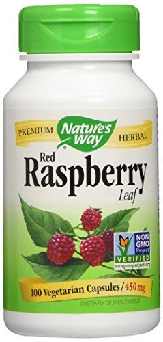 Nature's Way – Red Raspberry Leaves, 450 mg, 100 capsules