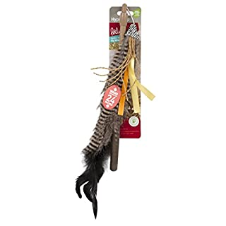 Petlinks 49223 Safari HyperNip Fly Wild Wand Cat Toy