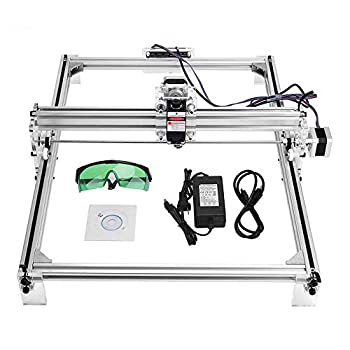 Image of Beading & Jewelry Making Uttiny Laser Engraving Machine, 30x40cm Engraver Kits DIY CNC 2.5W USB Upgraded 2 Axis Desktop Printer Used As Carving Engraving Cutting Machine for Leather Wood Plastic (3040) (3040 2.5W)
