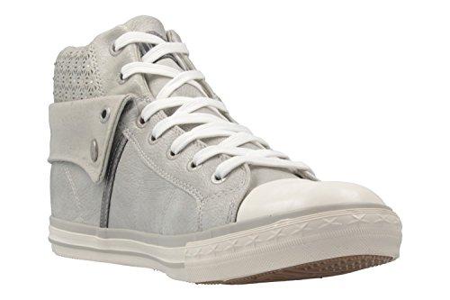 514 Femme Silber Sneakers 21 Dunkelblau Blau 800 Hautes 1146 Mustang Hv5qwPzw