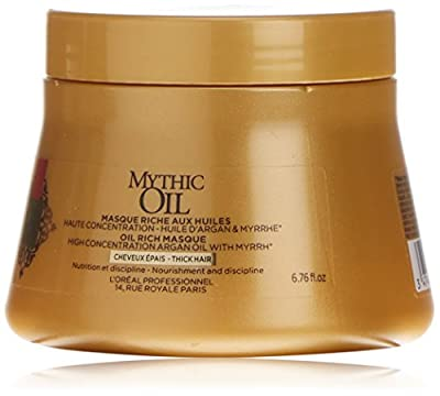 L'Oreal Mythic Oil Rich Mask Thick Hair 200ml