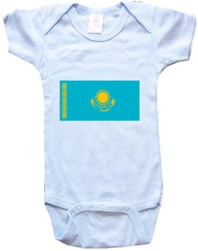 kazakhstan-kazakh-flag-flag-series-blue-baby-one-piece-bodysuit-baby-t-shirt-size-medium-12-18m
