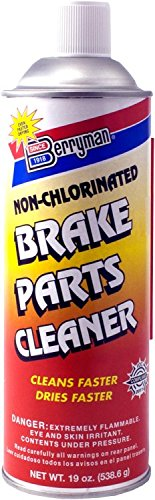 Berryman 2421C Non-Chlorinated Brake Parts Cleaner, VOC Compliant in All 50 States, 19 oz.
