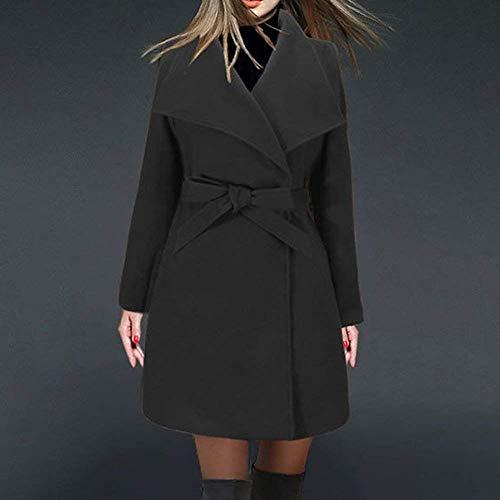 Qualit Femme De Mode Uni Haute Manche Classique Trench nUwqvHC7Wq