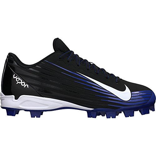 Men's Nike Vapor Strike 2 Baseball Cleat Black/Rush Blue/White Size 7 M US