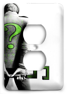 Riddler Cover - Arkham The Riddler Outlet Cover