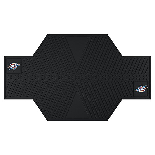 FANMATS 15389 NBA Oklahoma City Thunder Motorcycle Mat by Fanmats
