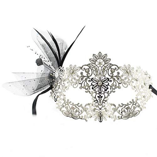 Masquerade Express Women's Filigree Metal Laser Cut