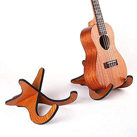 domybest soporte vertical plegable (madera, para ukelele ...
