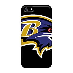 Excellent Cell-phone Hard Cover For Iphone 5/5s With Customized High Resolution Baltimore Ravens Pictures WandaDicks