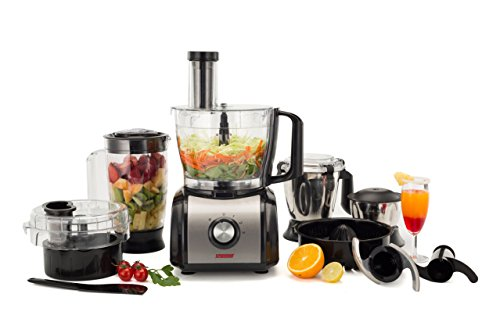 Spherehot Food Processor FP-01, Black Silver