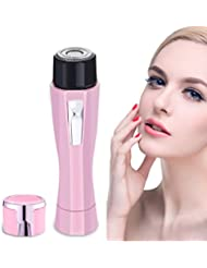 Women's Painless Hair Remover, Perfect For Facial Hair Removal, Safe to Use For Any Unwanted Fine Hairs, Fully Washable & Easy To Clean