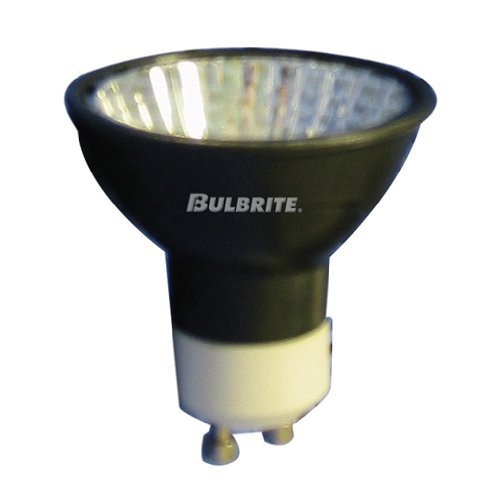 Bulbrite EXN/GU10/BLK 50-Watt 120-Volt Halogen MR16 GU10 Base, Black Flood