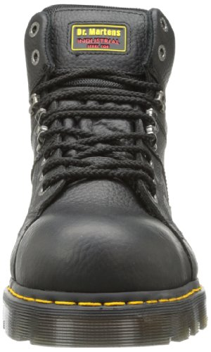 Work ST Men's Martens Black Industrial Wide Ironbridge Dr Grizzly WXTpqv