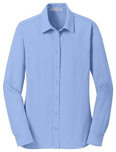 (Port Authority Womens Dimension Knit Dress Shirt L570 -Dress Shirt L)