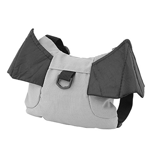 [Baby Kids Keeper Toddler Walker Safety Harness Backpack Bag Strap Rein Walking Carrier Cute Toddler Bag for Pre-School Keeps Essential Items Ready for Childcare (Batman)] (Sliding Side Reins)