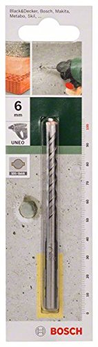 Bosch 2609256903 Concrete Drill Bit SDS-Quick 6x55x100 for Bosch UNEO