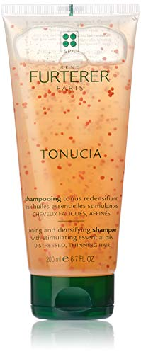 Rene Furterer TONUCIA Toning and Densifying Shampoo, Aging Weakened Hair, Visibly Thickens Hair, 6.7 oz.
