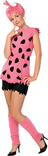 Flintstones Characters Halloween Costumes (UHC Teen Girl's Tv Characters The Flintstones Pebbles Halloween Costume, Teen (2-6))