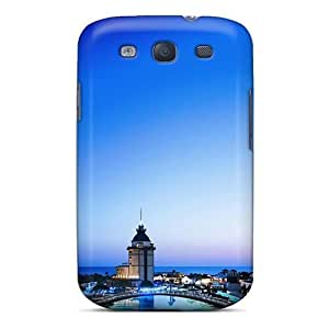 Durable Protector Case Cover With Antalya Cities Hot Design For Galaxy S3