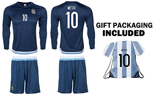Long Sleeve Away Soccer Jersey - 3
