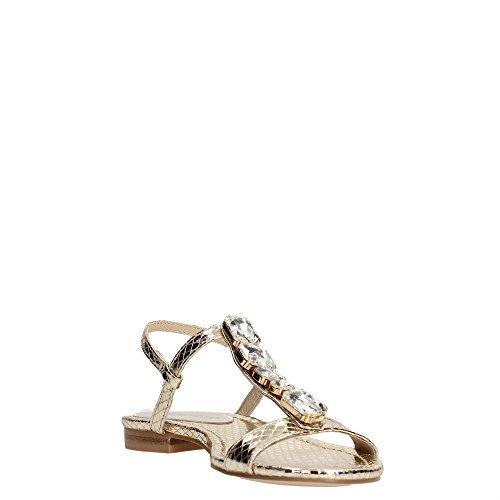 CafèNoir OGC939 Sandalo Donna Pelle Oro Oro 37