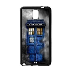 Custom Police Call Box Tardis Durable Cover Case For Samsung Galaxy Note 3 III TPU