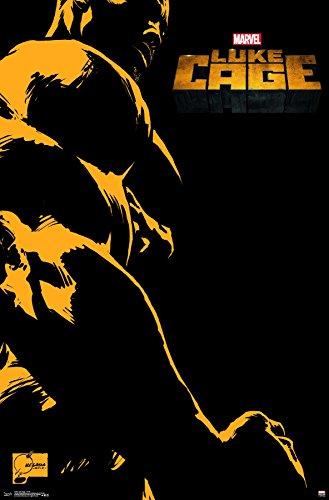 Cage Art Wall (Trends International Wall Poster Luke Cage-TV Art, 22.375