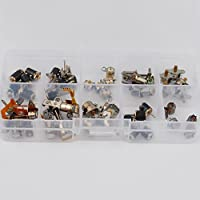50pcs totally 5pcs each of 10 kinds 2 Phase 4 Wire dc micro stepper motor Mini stepper motor Assorted with Plastic box 5086